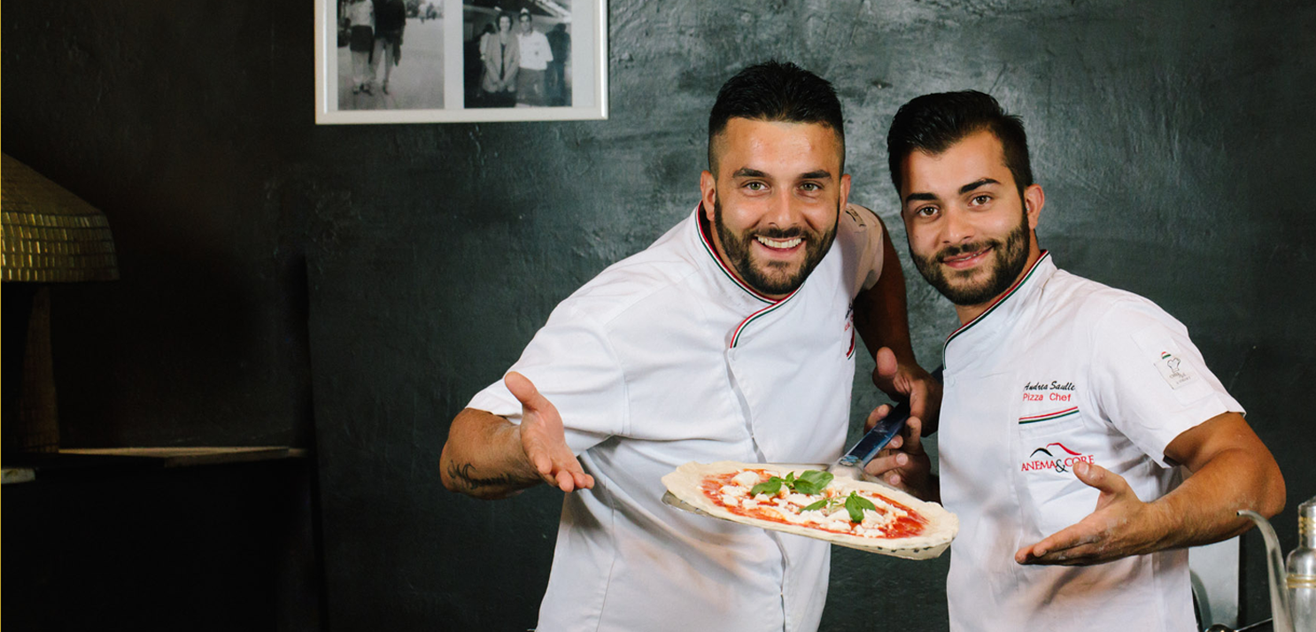 Neapolitan pizza masterclass aosta cervinia courmayeur chamonix