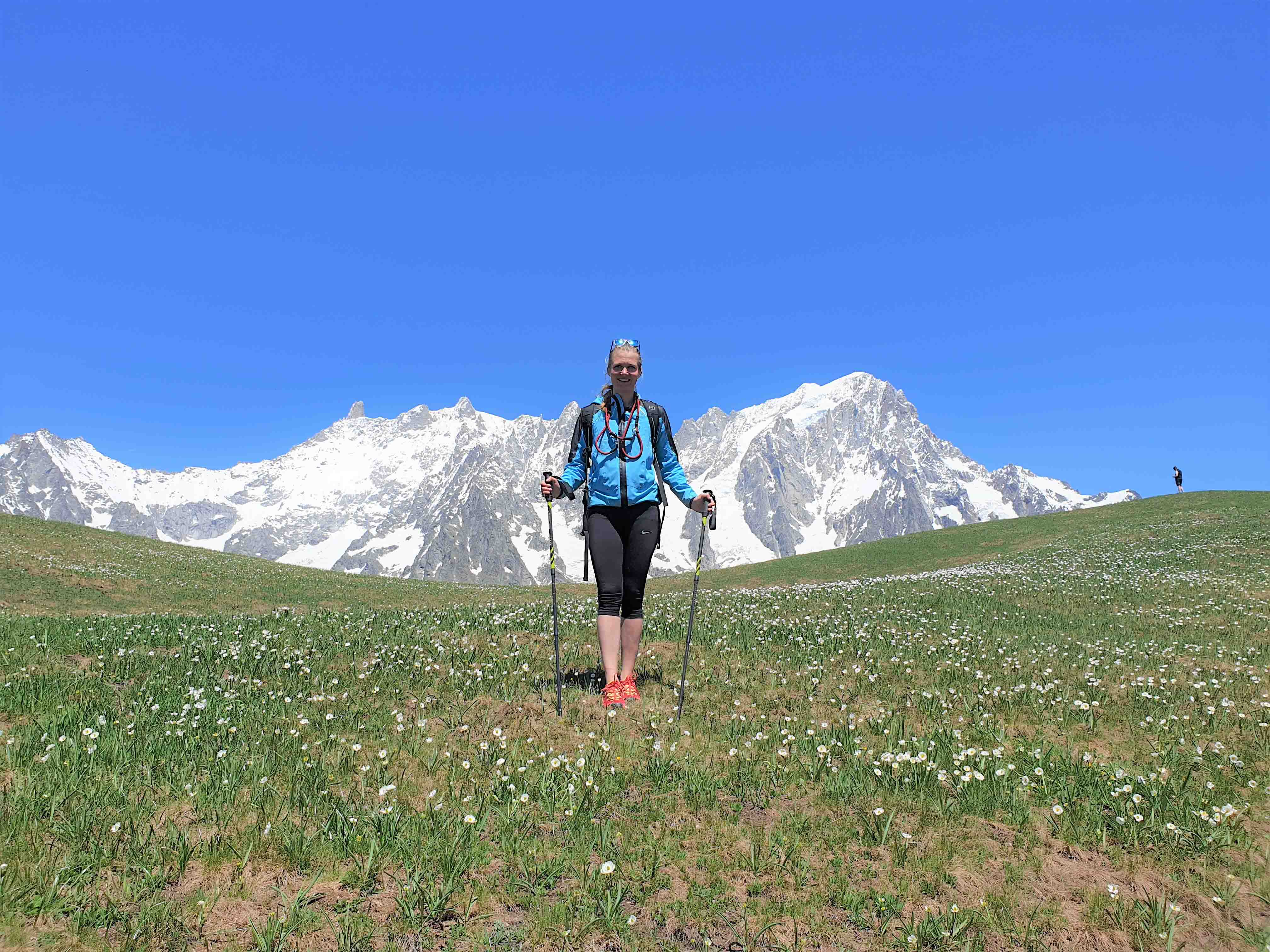 tour of mont blanc with guide and self guided