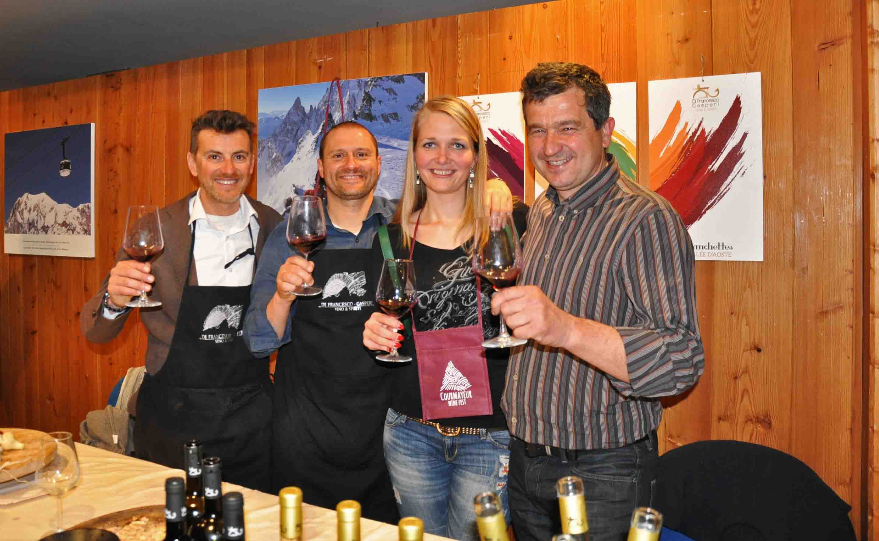 wine and food tasting in courmayeur mont blanc